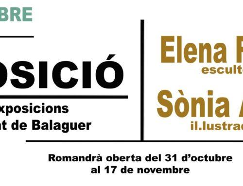 Invitació exposició Sònia Alins I Elena Roset